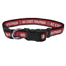 North Carolina State Wolfpack NCAA Dog Collar