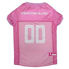 ad2629fe2e8 University of Illinois Fighting Illini NCAA Pet Jersey