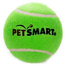 Grreat Choice® PetSmart Jumbo Tennis Ball Dog Toy (COLOR VARIES)