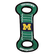 University of Michigan Wolverines NCAA Field Dog Toy