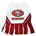 San Francisco 49ers NFL Cheerleader Uniform