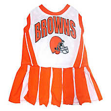 Cleveland Browns NFL Cheerleader Uniform