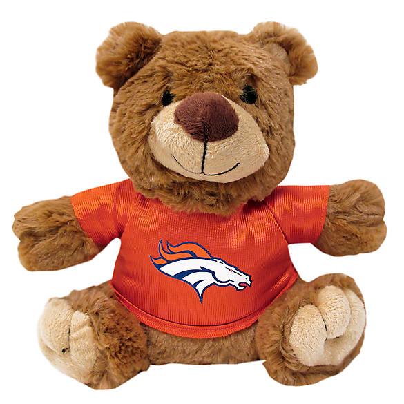 Denver Broncos Nfl Teddy Bear Dog Toy Dog Plush Toys Petsmart