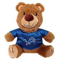 Detroit Lions NFL Teddy Bear Dog Toy