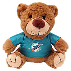 Miami Dolphins NFL Teddy Bear Dog Toy
