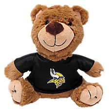 Minnesota Vikings NFL Teddy Bear Dog Toy