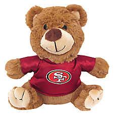 San Francisco 49ers NFL Teddy Bear Dog Toy