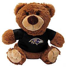 Baltimore Ravens NFL Teddy Bear Dog Toy