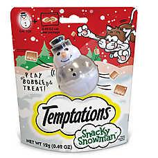 Temptations™ Snacky Snowman Cat Toy &Treats
