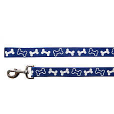 Top Paw® Classic Bone Plaid Dog Leash