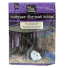 All Living Things® Corner Forest Hide Small Pet