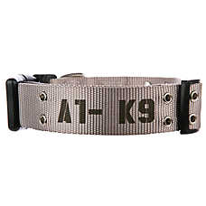 Top Paw® Duke A1-K9 Adjustable Dog Collar