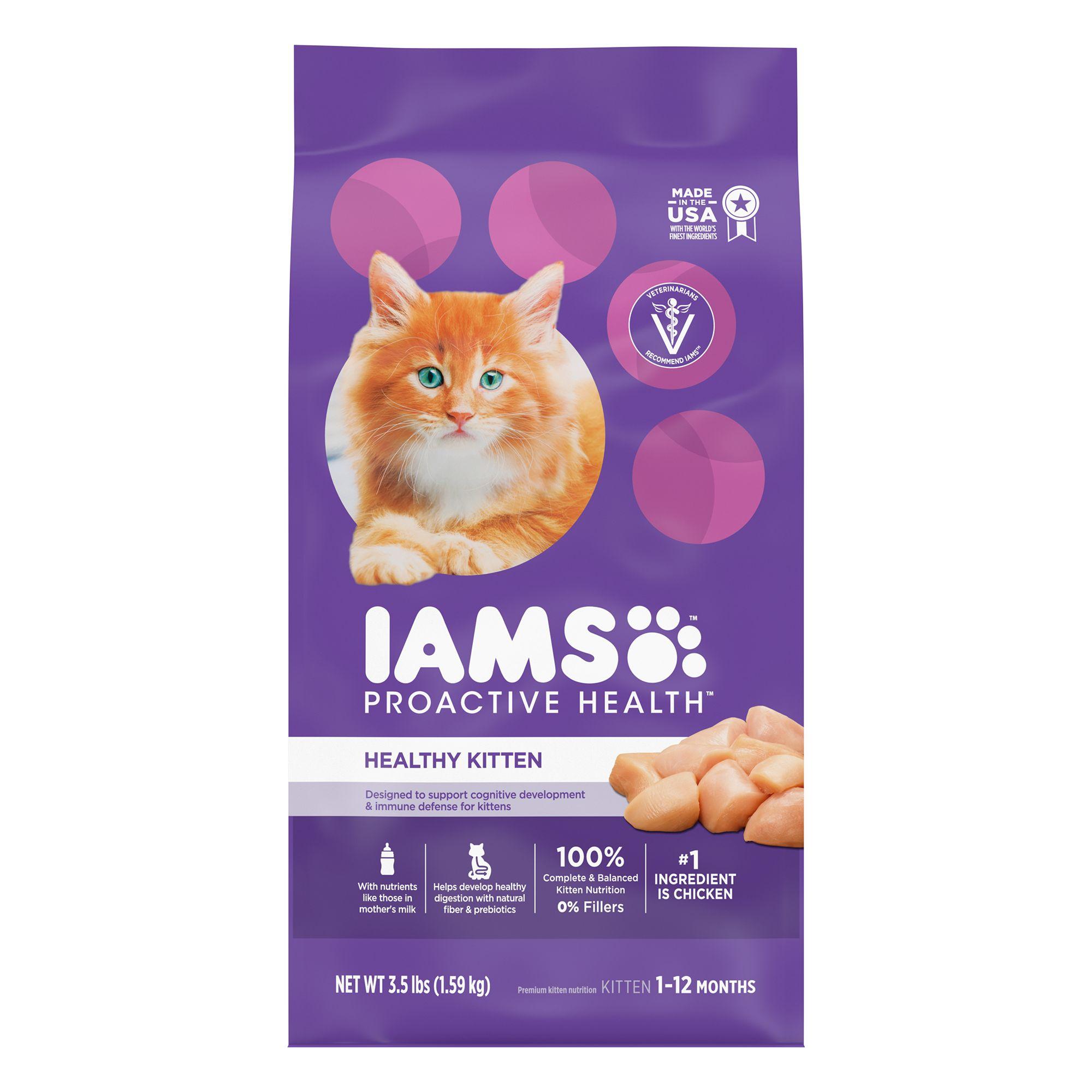 Iams Proactive Health Trade Kitten Food Chicken Cat Dry Food Petsmart
