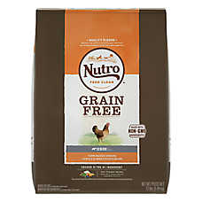 NUTRO™ Grain Free Senior Dog Food - Natural, Non-GMO, Chicken, Lentils & Sweet Potato