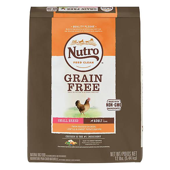 Nutro Dog Food Small Breed Grain Free