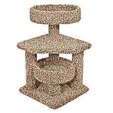 Whisker City® Platform Corner Cat Tower