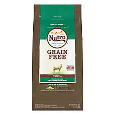 NUTRO® Grain Free Adult Dog Food - Natural, Non-GMO, Lamb, Lentils & Sweet Potato