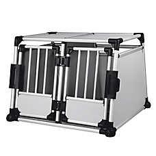 Trixie Double Door Metallic Dog Crate