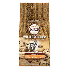 NUTRO™ Wild Frontier Adult Dog Food - Natural, Grain Free, Non-GMO, Open Valley Recipe