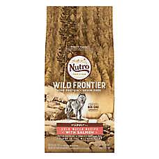 NUTRO™ Wild Frontier Adult Dog Food - Natural, Grain Free, Non-GMO, Cold Water Recipe