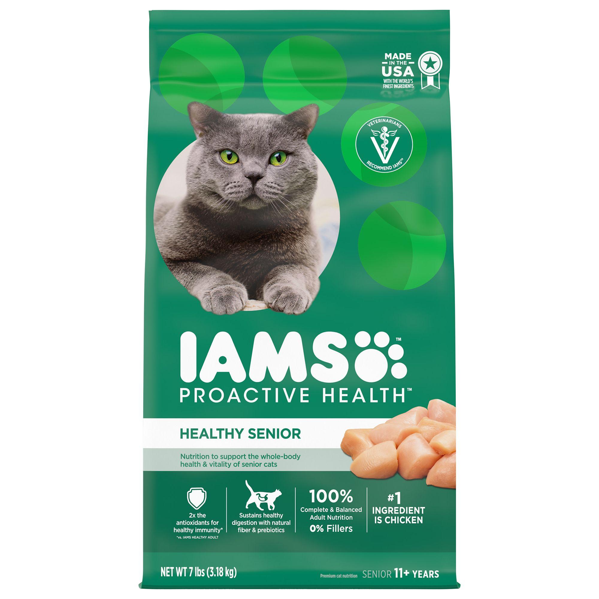Iams® ProActive Health™ Lively Senior Cat Food - Chicken