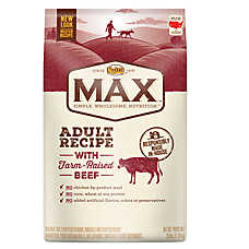 NUTRO® MAX® Adult Dog Food- Natural, Beef