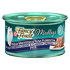 Fancy Feast® Medleys Adult Cat Food - Whitefish & Tuna Florentine