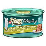 Fancy Feast® Medleys Adult Cat Food - White Meat Chicken Primavera