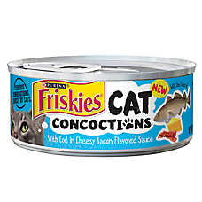 Purina® Friskies® Cat Concoctions Cat Food - Cod in Cheesy Bacon Sauce