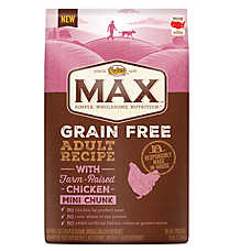NUTRO® MAX® Grain Free Adult Dog Food - Natural, Chicken, Mini Chunk