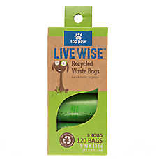Top Paw® Unscented Recycled Waste Bags