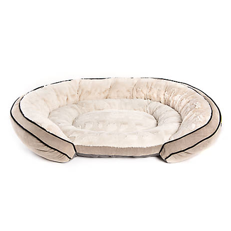 Top Paw 174 Orthopedic Memory Foam Couch Pet Bed Dog