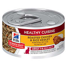 Hill's® Science Diet® Healthy Cuisine Adult Cat Food - Roasted Chicken & Rice