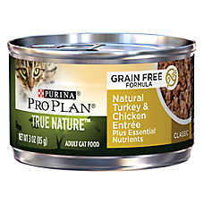 Purina® Pro Plan® True Nature™ Adult Cat Food - Grain Free, Natural, Turkey & Chicken