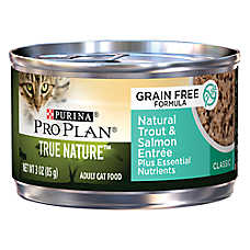 Purina® Pro Plan® True Nature™ Adult Cat Food - Grain Free, Natural, Trout & Salmon