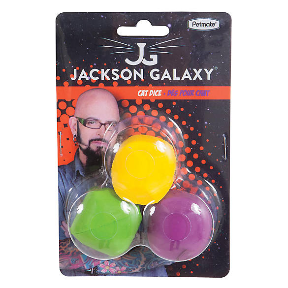 Jackson galaxy dice cat toys 3 pack cat multi pack for Jackson galaxy petsmart