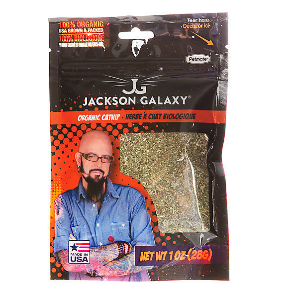 Jackson galaxy organic catnip cat catnip petsmart for Jackson galaxy cat products