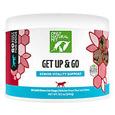 Only Natural Pet® Get Up & Go Joint Senior Vitality Support Soft Dog Chews