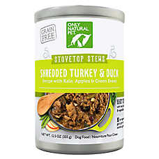 Only Natural Pet PowerStew Dog Food - Natural, Grain Free, Turkey & Duck