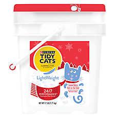 Purina® TIDY CATS® LightWeight 24/7 Performance Clumping Cat Litter