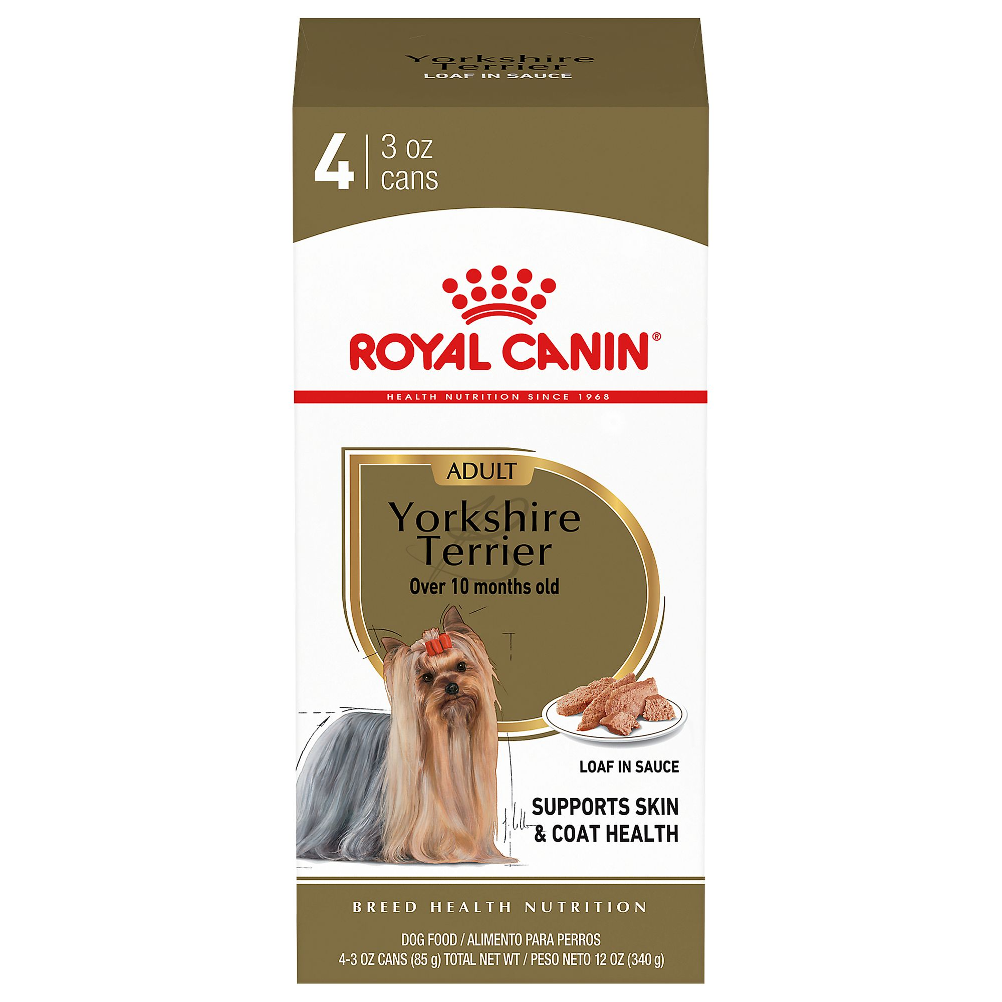 Royal Canin Breed Health Nutrition Trade Yorkshire Terrier Adult Dog Food 4ct Dog Canned Food Petsmart