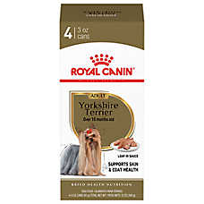 royal canin breed health nutrition yorkshire terrier adult dog food 4ct dog canned food. Black Bedroom Furniture Sets. Home Design Ideas