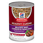 Hill's® Science Diet® Healthy Cuisine Adult Dog Food - Braised Beef, Carrots & Peas