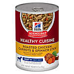 Hill's® Science Diet® Healthy Cuisine Mature Adult Dog Food - Roasted Chicken, Carrots & Spinach