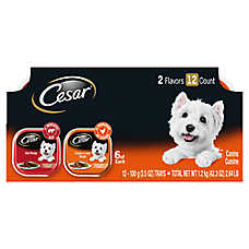 Cesar® Classics Adult Dog Food - Beef & Chicken, Variety Pack, 12ct