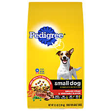 PEDIGREE® Small Breed Adult Dog Food - Steak & Vegetable