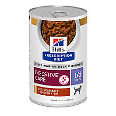 Hill's® Prescription Diet® i/d Low Fat Digestive Care Dog Food - Rice, Vegetable & Chicken Stew