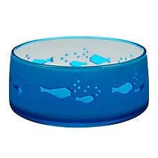Whisker City® Swimming Fish Cat Bowl (COLOR VARIES)