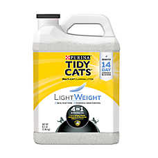 Purina® TIDY CATS® LightWeight 4-in-1 Strength Cat Litter - Clumping, Multi Cat