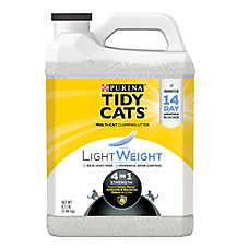 Purina® TIDY CATS® LightWeight 4-in-1 Strength Cat Litter - Clumping, Mulit Cat